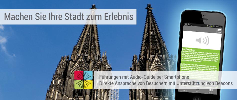 Stadtführungsapp mit Audio-Guide