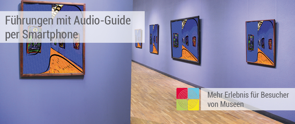 Museums App mit Audio-Guide