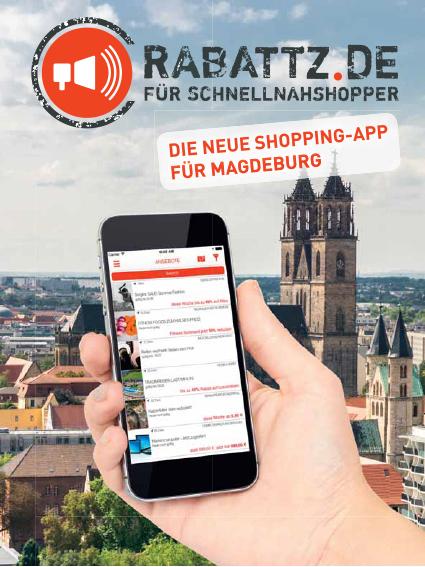 Shopping App für Magdeburg